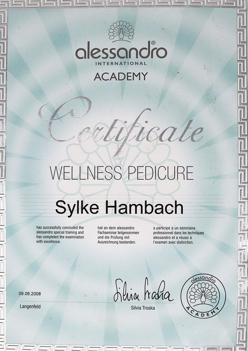 Glitter & Glamour | Zertifikat Wellness Pedicure