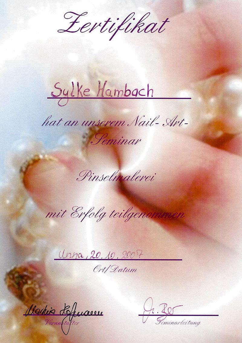Glitter & Glamour | Zertifikat Nail-Art